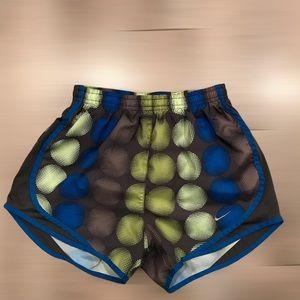 Nike Dri-Fit Running Shorts Circles Dots Active